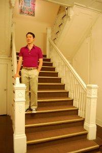 Treppen zu Hause